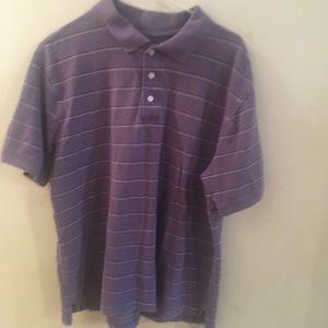 ✨ 3/$30 Croft & Barrow Striped Polo Collared Shirt